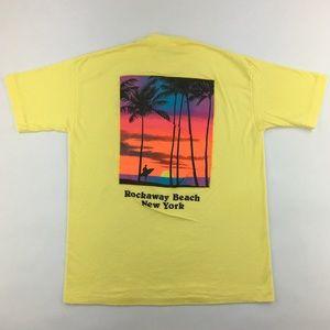 Vintage Rockaway Beach Surf Shop New York T-Shirt